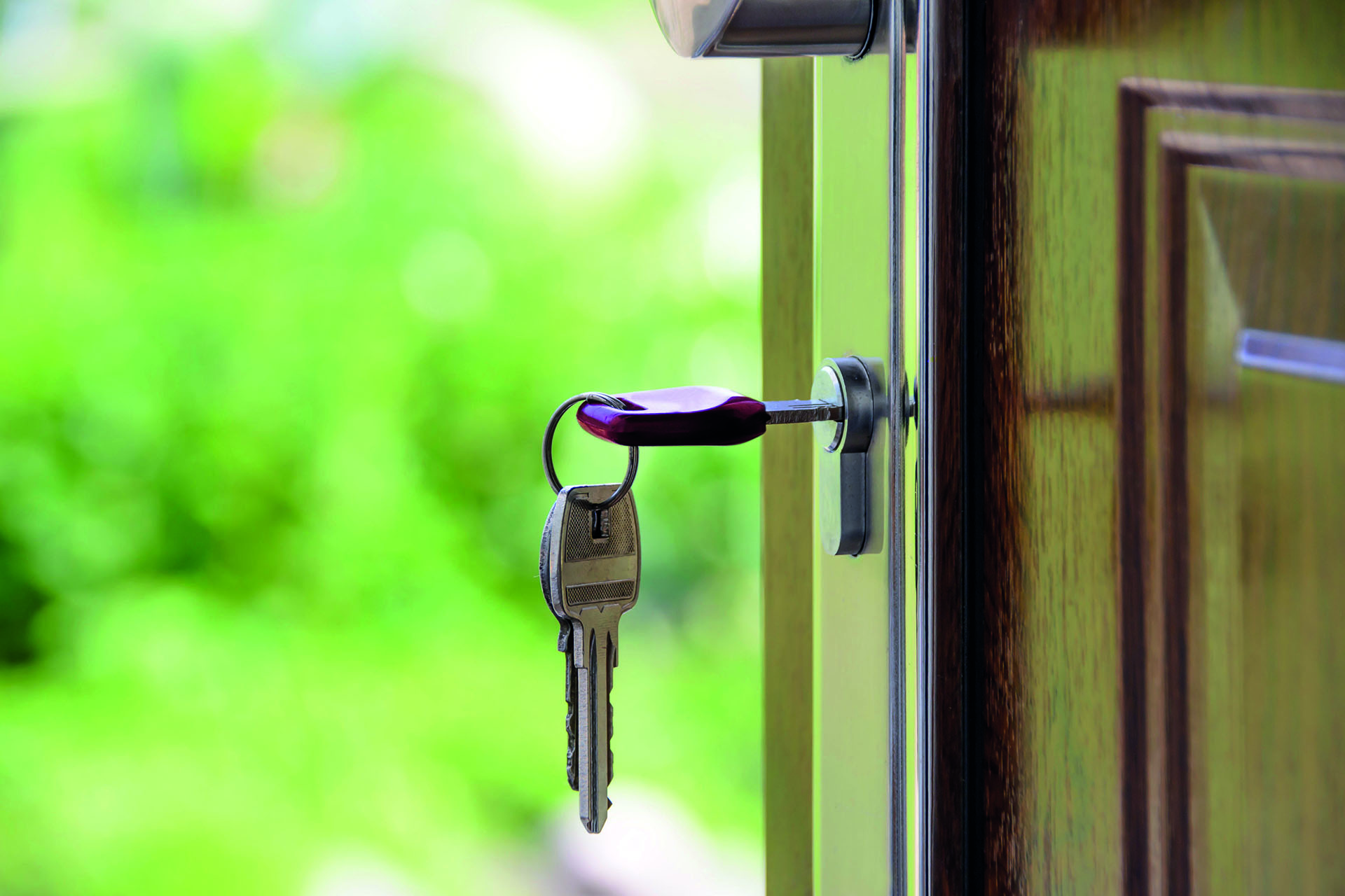 Keys to a new door