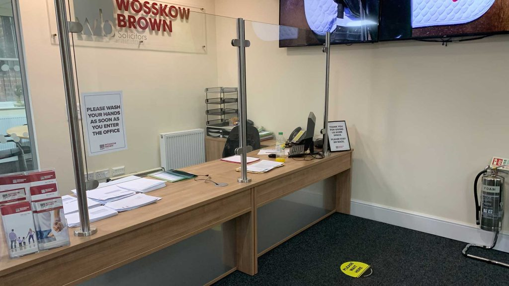 Wosskow Brown Solicitors - Barnsley Office - Reopening to the public